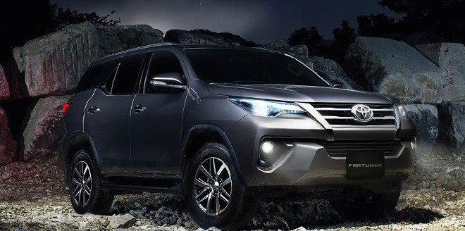 ô tô Toyota Fortuner Hải Nam vượt đường